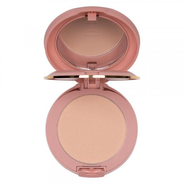 Poze Pudra Compacta Fixare Machiaj 5 in 1 TLM Micro Powder Pink