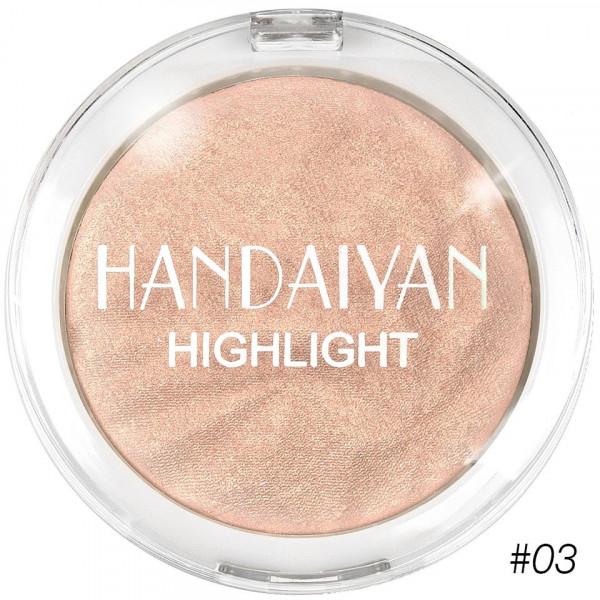 Poze Pudra Iluminatoare Fata si Corp MakeUp Glow Handaiyan #03