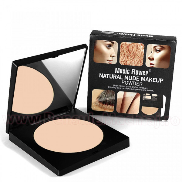 Poze Pudra Nude 102  Music Flower - Long Lasting