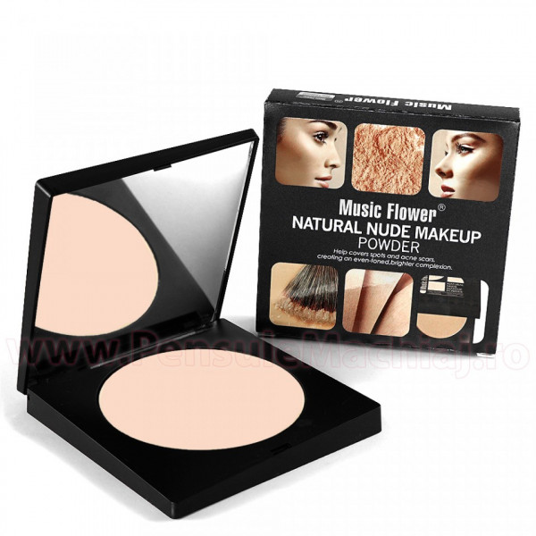Poze Pudra Nude 103 Music Flower - Long Lasting