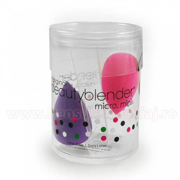 Poze Set 2 Bureti Machiaj Mini Beauty Blender