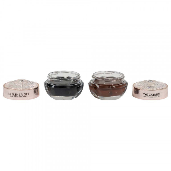Poze Set Eyeliner Gel TLM The New Upgrade Black & Brown
