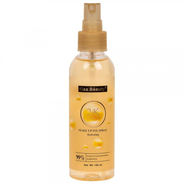 Poze Spray Fixare Machiaj Kiss Beauty Hydrating 24K Gold, 140ml