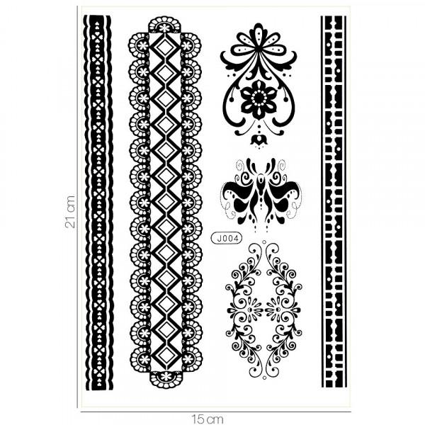 Poze Tatuaj Temporar LUXORISE Henna Temptation Get In Line J004
