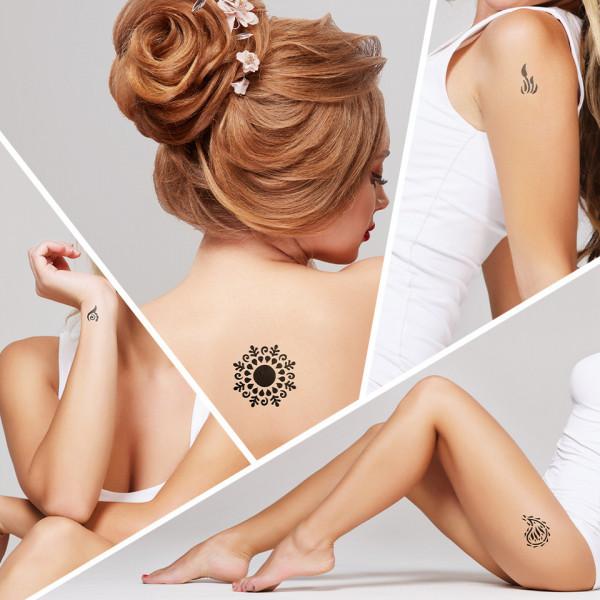 Poze Tatuaj Temporar LUXORISE Henna Temptation Soul On Fire J227
