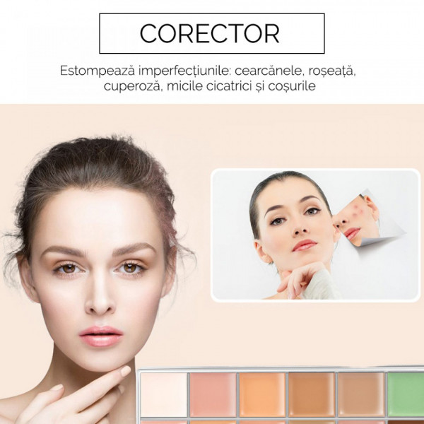 Poze Trusa Corector, Anticearcan, Concealer Perfect Disguise O.TWO.O