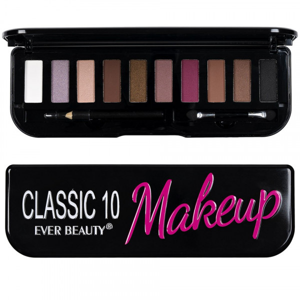 Poze Trusa Farduri 10 culori neutre Classic Make-up Forever Beauty