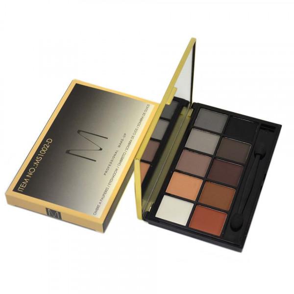 Poze Trusa Farduri 10 culori neutre Smoky Nudes cu oglinda si aplicator