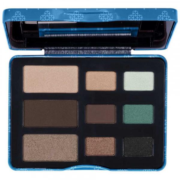 Poze Trusa Farduri 9 culori Eyeshadow USHAS Blue Eyes #02