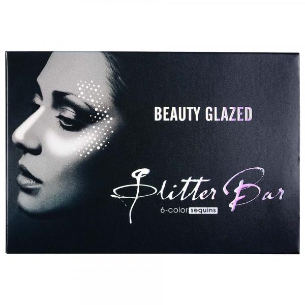 Poze Trusa Glitter Ochi Beauty Glazed Bar Cupcakes