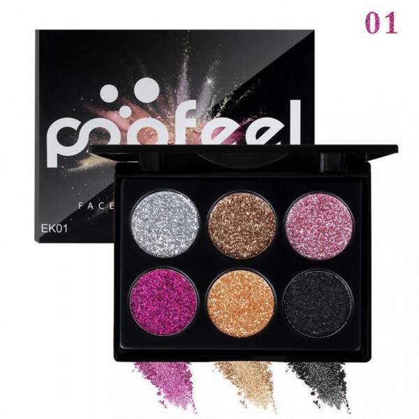 Poze Trusa Glitter Ochi Glow Night Powder