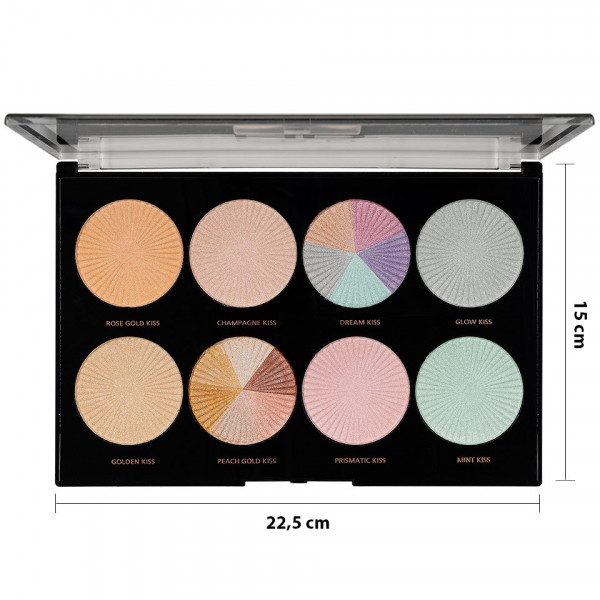 Poze Trusa Machiaj MakeUp Revolution HD Highlighter Palette Glow Getter