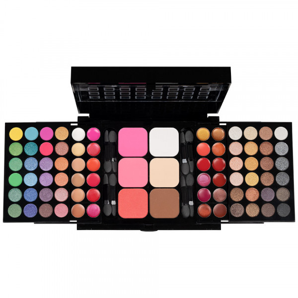 Poze Trusa Machiaj Multifunctionala SensoPRO Milano cu 78 de Culori Beauty in a Box