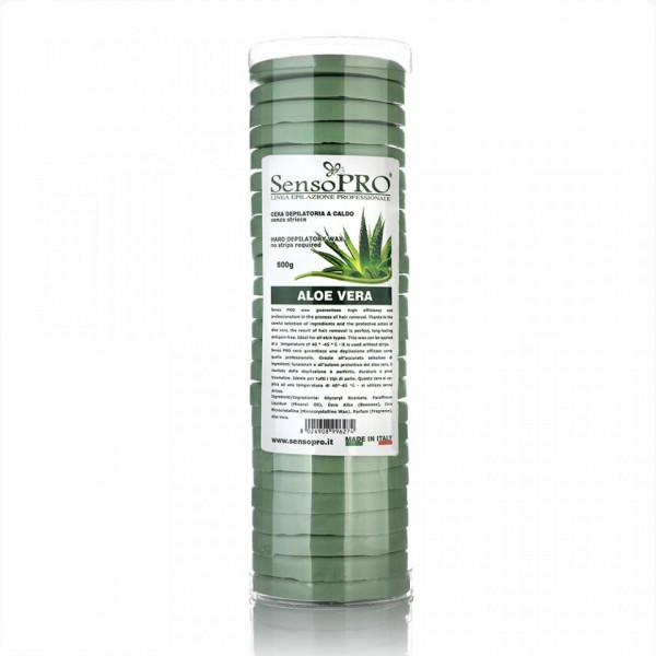 Poze Ceara Epilat Elastica Discuri SensoPRO Italia Green Touch, 500g