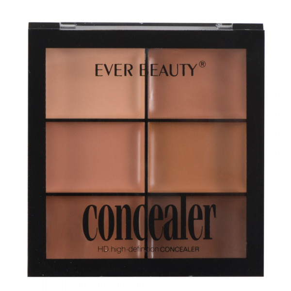 Poze Corector/Concealer, Anticearcan in 6 nuante Glossy Perfect Palette