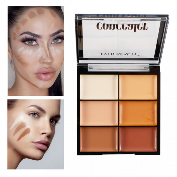 Poze Corector/Concealer, Anticearcan in 6 nuante Gold Fusion Perfect Palette