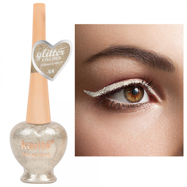 Poze Eyeliner Colorat Karite #06 Shimmer Light Gold