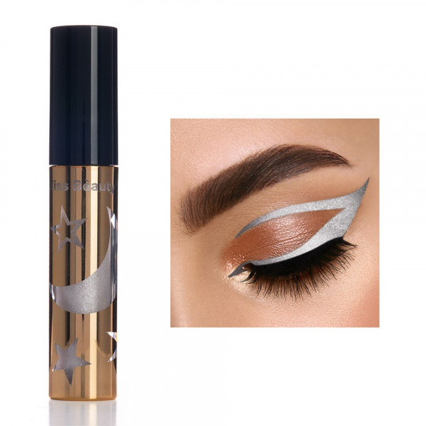 Poze Eyeliner colorat Kiss Beauty #01 My Moon and Stars
