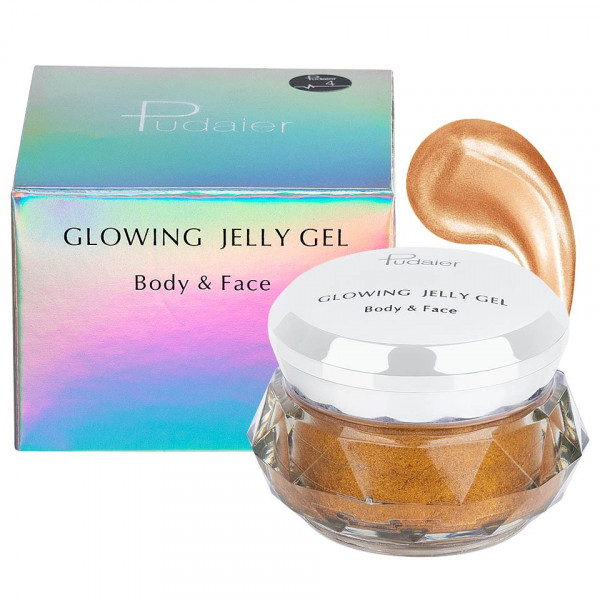Poze Iluminator crema pentru fata si corp Pudaier Glowing Jelly #04