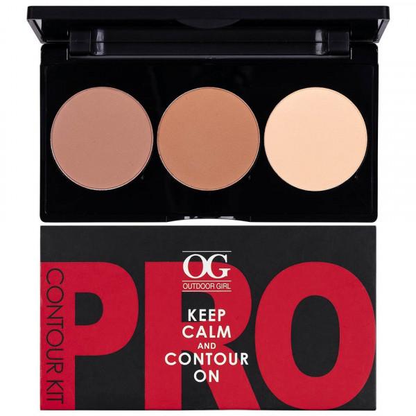 Poze Kit Contur & Iluminator fata 3 culori - PRO Contour Kit #01