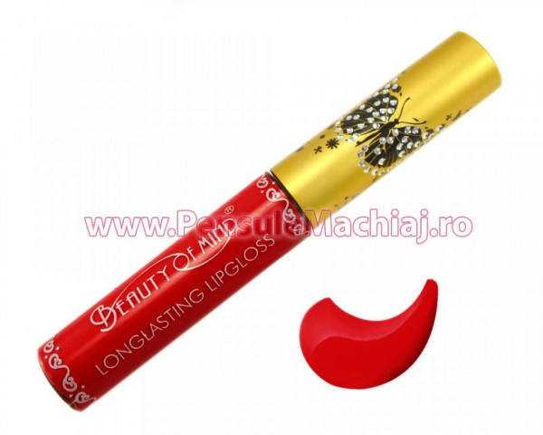 Poze Lip Gloss rezistent la transfer mat Beauty of Mind #10 - Maraschino
