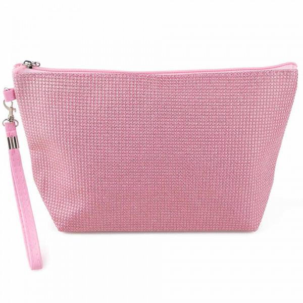 Poze Portfard Produse Cosmetice, Baby Pink