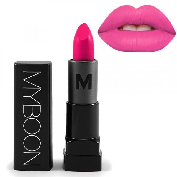Poze Ruj Hidratant Matt - MYBOON #09 - Persian Pink