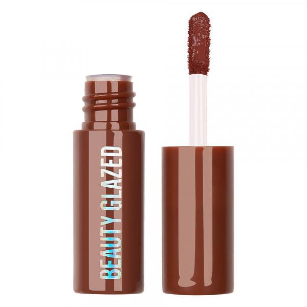 Poze Ruj lichid mat Beauty Glazed Chocolate Silky Lipgloss, Chocolate #111