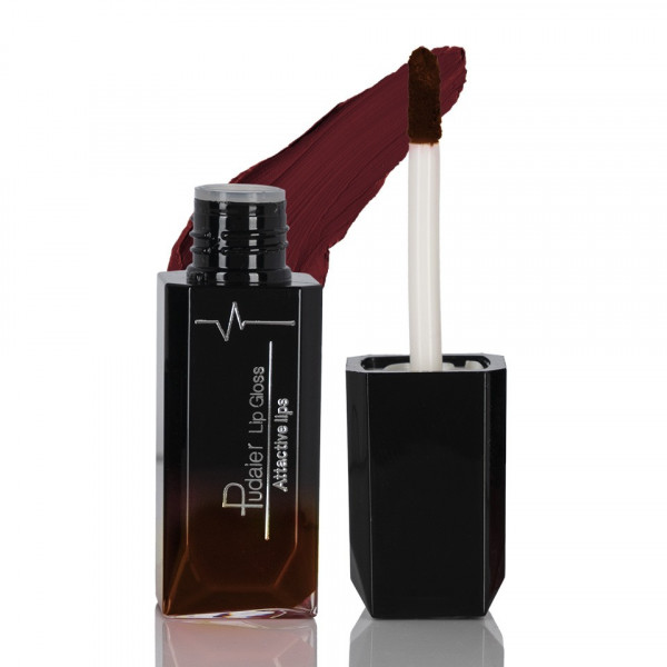 Poze Ruj lichid mat Pudaier Attractive Lips - Lethal Red #17