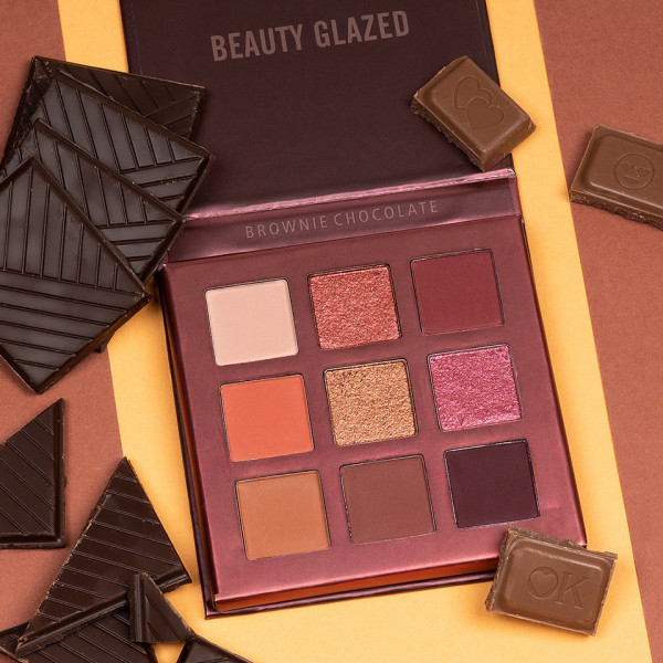 Poze Trusa Farduri Beauty Glazed Brownie Chocolate