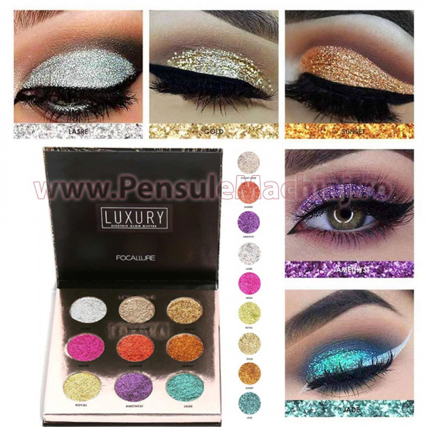 Poze Trusa Glitter Ochi Electric Luxury Focallure