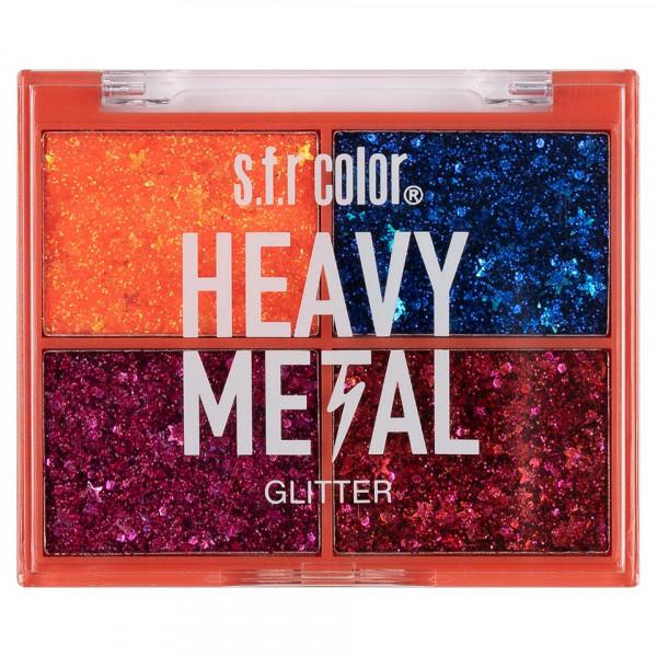 Poze Trusa Glitter S.F.R. Heavy Metal #01