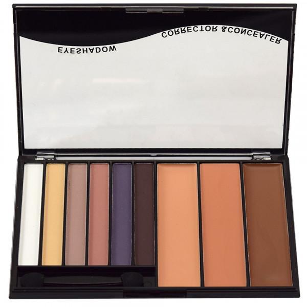 Poze Trusa Machiaj 9 culori Eye Shadow & Concealer Meis #01 - She's a Model