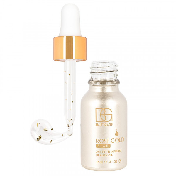 Poze Ulei Elixir de Frumusete Beauty Glazed 24K Rose Gold