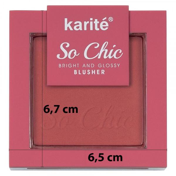 Poze Blush cu aplicator Karite So Chic #03