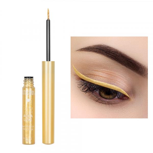 Poze Eyeliner Colorat cu Sclipici S.F.R. Color Glam Waterproof #02