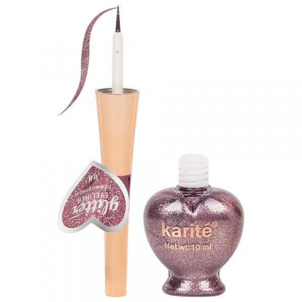 Poze Eyeliner Colorat Karite #04 Shimmer Rose Gold