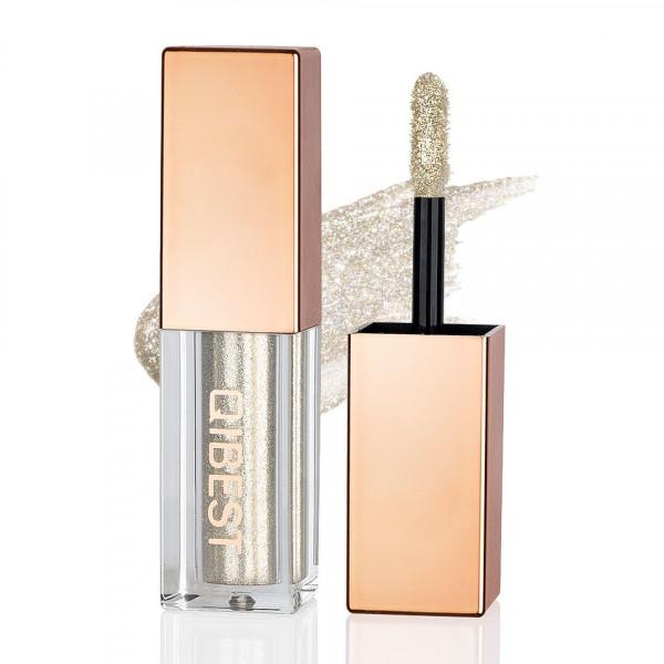 Poze Fard Pleoape Lichid Qibest Eye Shimmer #09 Gold Diamond
