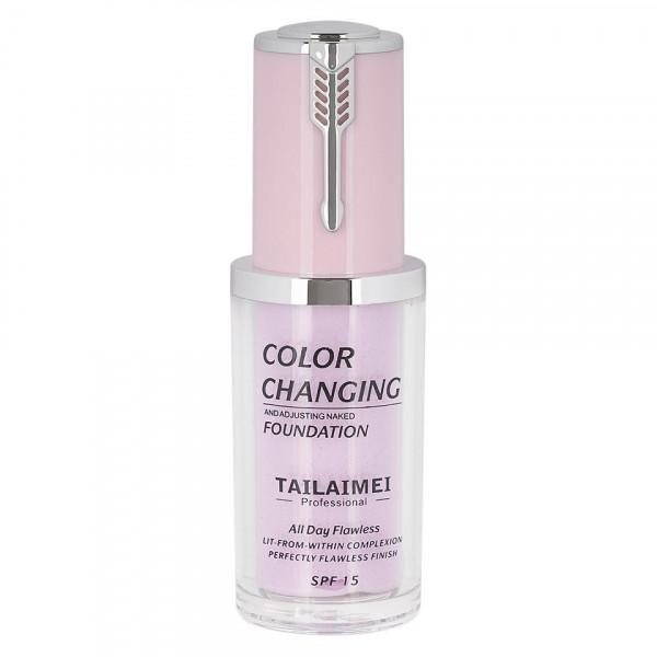 Poze Fond de Ten TLM Color Changing Velvet Touch + Fond de Ten TLM Complexion Care Cream CADOU