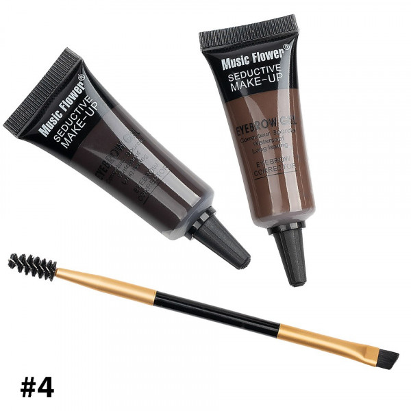Poze Kit sprancene 2 in 1 + pensula sprancene Happy Brow #04