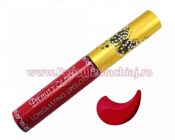 Lip Gloss Rezistent La Transfer Mat Beauty Of Mind #11 - Aubergine