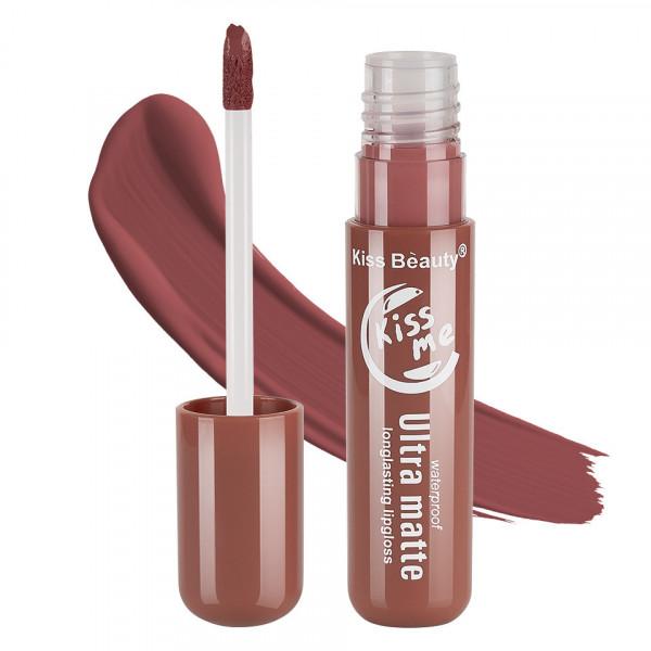 Poze Lipgloss Ultra Matte Kiss Beauty, Kiss Me #02