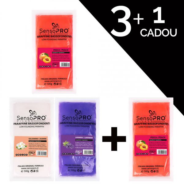 Poze Parafina Solida SensoPRO Milano 3 + 1 CADOU