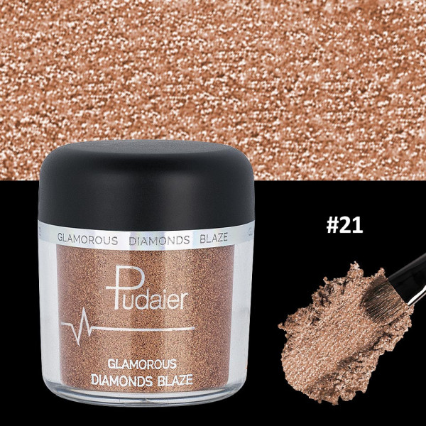 Poze Pigment Machiaj Ochi #21 Pudaier - Glamorous Diamonds