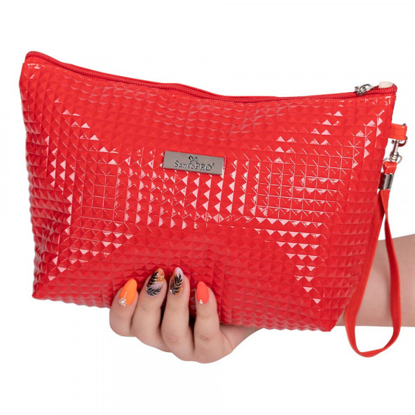 Poze Portfard Cosmetice SensoPRO, Charming Red