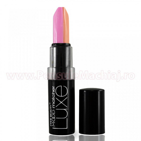 Poze Ruj 2 in 1 Duo Color Lip Stick Ever Beauty 36 hours #102 - Color Energy