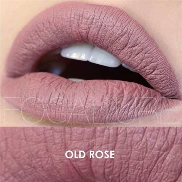 Poze Ruj lichid mat Focallure Old Rose #08