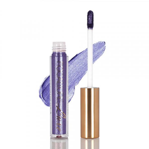 Poze Ruj metalic lichid mat Focallure Delirium Purple #35