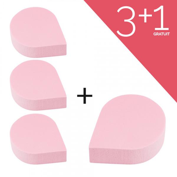 Poze Set Bureti Machiaj Soft Touch 3 + 1 CADOU
