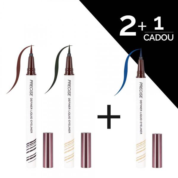 Poze Set Eyeliner Colorat tip Carioca UCANBE 2 + 1 CADOU